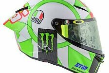 MotoGP: Valentino Rossis Helm für Mugello 2018