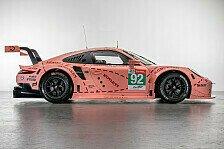 WEC - Porsche mit klassischen Designs bei den 24h Le Mans
