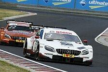 DTM Budapest 2018: Mercedes-Doppelsieg - völliges BMW-Debakel