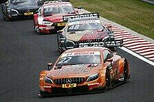 DTM Budapest: Mercedes dominiert Qualifying komplett