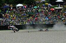 Schrötter nach Moto2-Crash: Podestchance im Kies versenkt