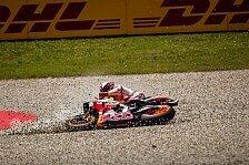 MotoGP Mugello - Marc Marquez: Sturz durch neue Michelin-Reifen
