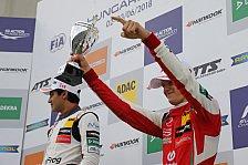 Mick Schumacher holt in Ungarn sein erstes Formel-3-Podium 2018