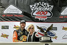 NASCAR: Fotos Rennen 14 - Pocono Raceway