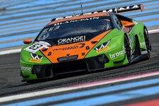 Hartes Rennen für das GRT Grasser Racing Team in Paul Ricard