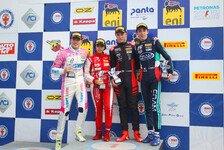 F4 Italien: Niklas Krütten in Monza zwei Mal auf Rookie-Podium