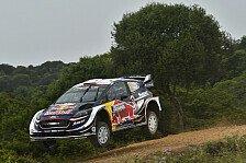 WRC Rallye Italien-Sardinien 2018: Enges Duell Ogier-Neuville