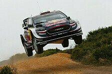 WRC Rallye Italien-Sardinien 2018: Ogier führt vor Neuville