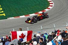 Formel 1 Kanada 2018: Verstappen im 1. Training vor Hamilton