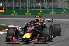 Formel 1: Verstappen auch im FP2 vorne, Vettel fährt nur wenig