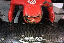 Formel 1: Grosjean-Unfall mit Murmeltier, Haas in Flügel-Not