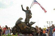 Nicky Haydens Gedenkstätte in Heimatstadt eingeweiht