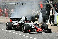 Formel 1 Sotschi 2018: Feuer in Haas-Box! Reifen zerstört