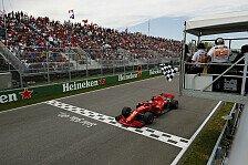 Formel 1 verrückt: Kanada GP wegen Supermodel 2 Runden kürzer
