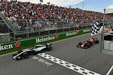 Formel 1, Verstappen bleibt bei P3 brav: Bottas nur geküsst