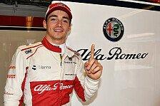 Formel 1: Charles Leclerc zu gut für Sauber-Zukunft 2019?