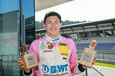Niklas Krütten: Führung in der Rookie-Wertung der ADAC Formel 4