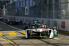Formel E Zürich: Daniel Abt ärgert sich über Piquet-Abschuss