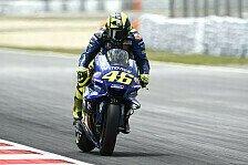 Valentino Rossi: Fehler verhindern besseren MotoGP-Startplatz