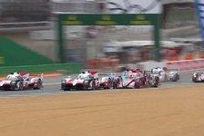 24 h von Le Mans - Video: 24h Le Mans: Start und Rebellion-Unfall in der Wiederholung