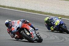 MotoGP Assen: Rossi ärgert sich über Dovizioso, der kontert