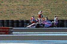Formel 1, nach Radverlust: FIA bestraft Force India doch