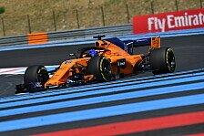 Formel 1, McLaren vom Winde verweht: Alonso fehlt überall Pace