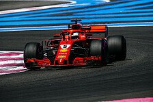 Formel 1, Vettel zu Frankreich-Pleite: Ferrari zu hart gepusht