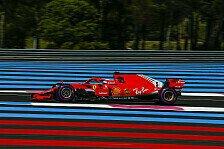 Formel 1, Trainingsanalyse Frankreich 2018: Vettel chancenlos?