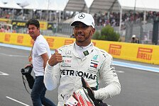 Formel 1, Hamilton holt wichtige Pole: Runde war nur 'so lala'