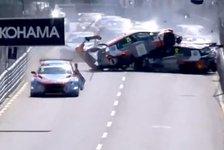 WTCR: Unfall-Video der Massen-Karambolage in Vila Real