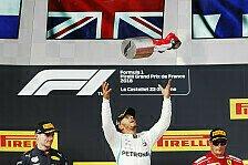 Formel 1 Frankreich LIVE-Ticker: Sieger Hamilton, Vettel crasht