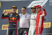 Formel 1 2018: Frankreich GP - Podium