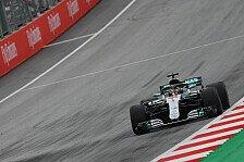 1. Training Österreich: Mercedes dominiert vor Verstappen