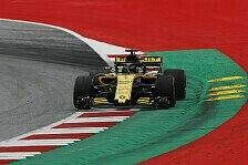 Formel 1, Hülkenberg kämpft in Österreich mit Renault-Balance