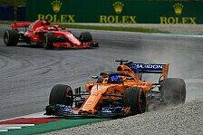 Formel 1, McLaren: Zeiten gut, Balance nicht. Angst vor Samstag