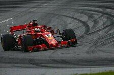 Formel 1 - Strafe droht: Vettel erklärt Sainz-Zwischenfall