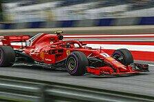 Formel 1: Räikkönen wegen altem Motor im Nachteil gegen Vettel?