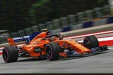 Formel 1, McLaren-Misere: Entwicklung im Training statt im Werk