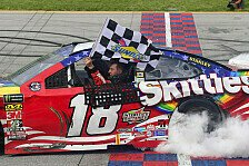 NASCAR Chicago: Kyle Busch gewinnt 'Kylerei' gegen Kyle Larson
