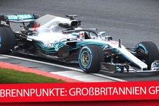 Formel 1 Silverstone: Die heißen Fragen beim Hamilton-Heimspiel