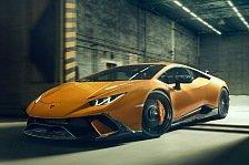 Novitec veredelt Lamborghini Huracan Performante