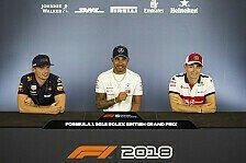Formel 1 2018: Großbritannien GP - Donnerstag