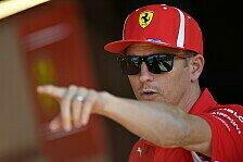 Formel 1: Keine Ferrari-Stallorder? Räikkönen tadelt Medien