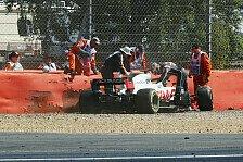F1, Haas erlebt turbulente Trainings: Normaler Tag im Büro