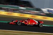 Formel 1: Vettel im 2. Training vorne, Verstappen mit Crash