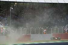 Formel 1 Silverstone: Max Verstappen mit Unfall im Training