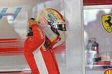 Vettel zittert sich zu Platz zwei: Hält der Nacken im Rennen?