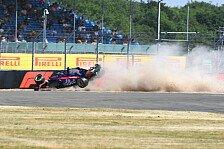 Formel 1: Heftiger Hartley-Crash nach Aufhängungsbruch
