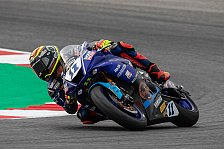 Magny-Cours: Sandro Cortese holt Podium in Supersport-Rennen
